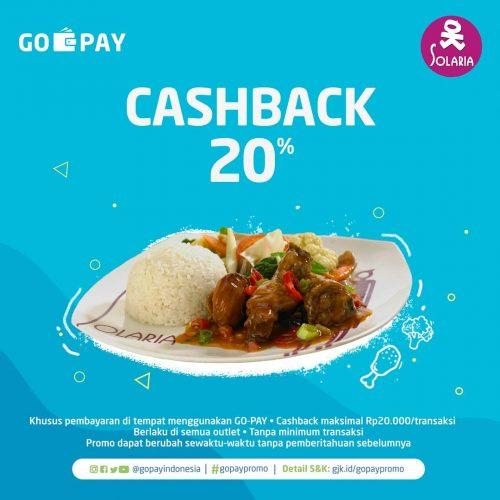 Go Pay Solaria Cash Back 20%