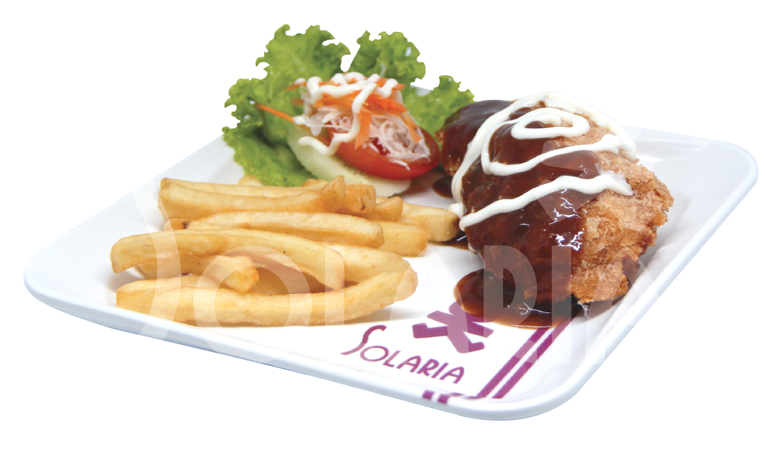 13. Chicken Cordon Bleu French Fries Solaria