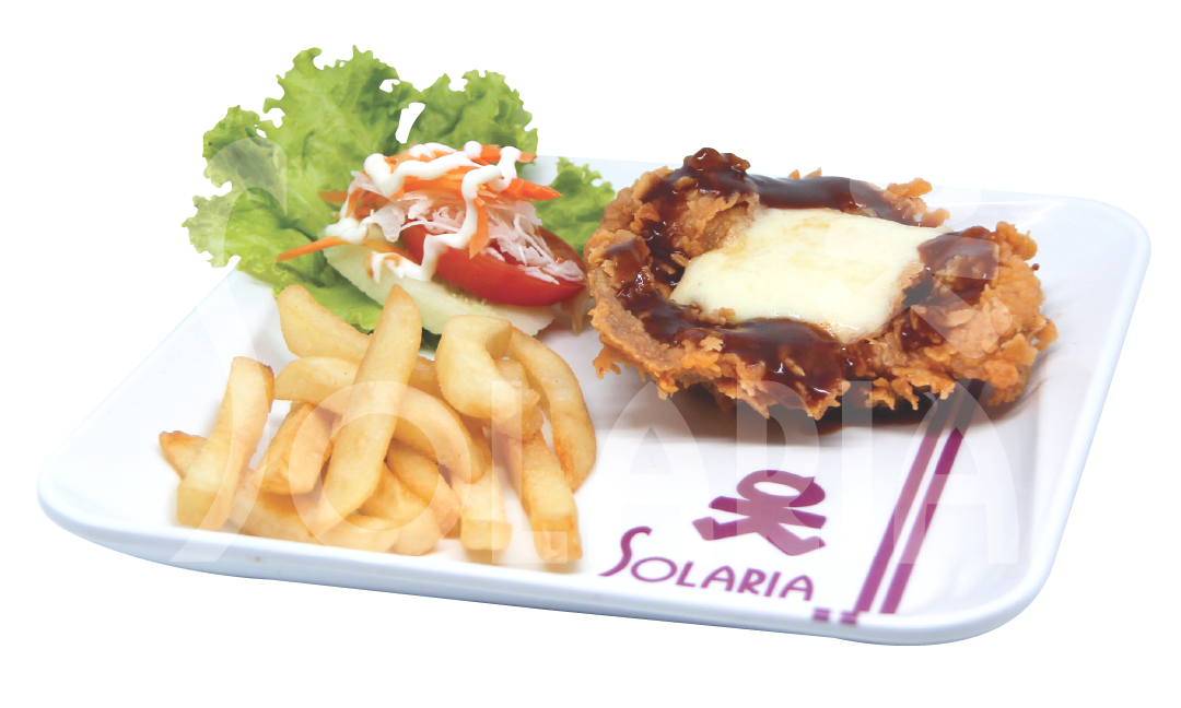 17. Chicken Steak Chessy French Fries Solaria