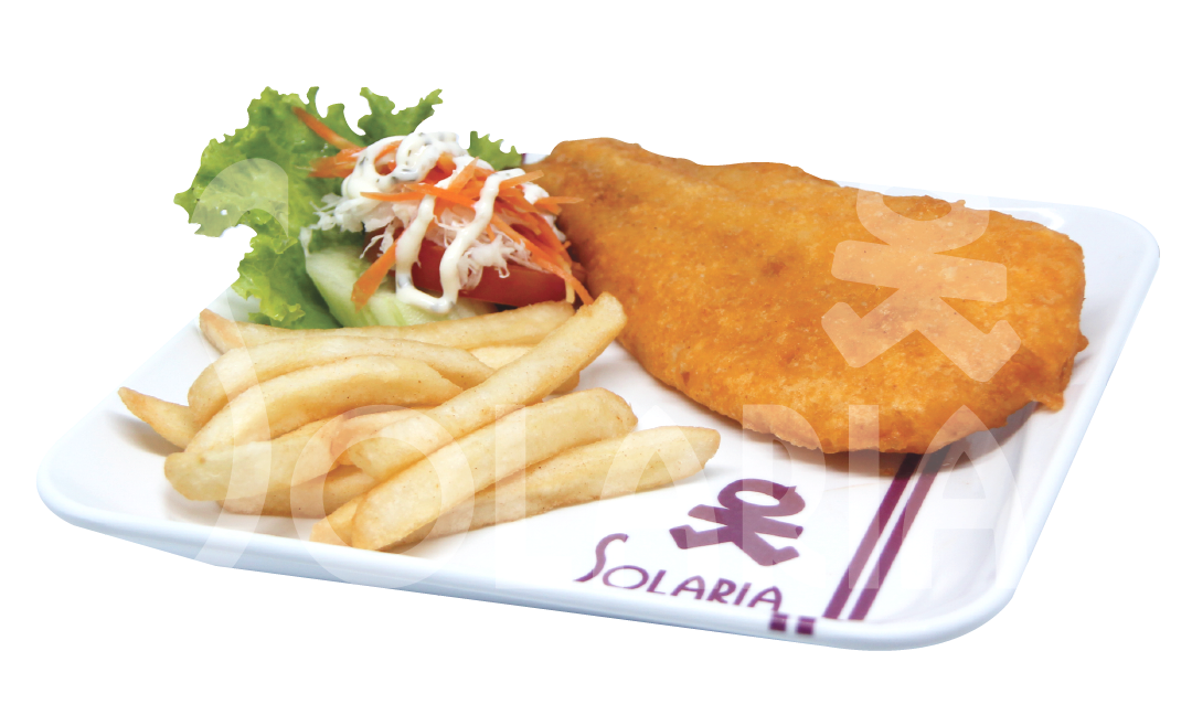 20. Fish & Chips French Fries Solaria